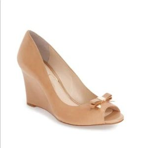 Jessica Simpson soft leather wedges.